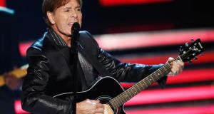 Cliff Richard: note-perfect but a dull phenomenon. Photograph: Andreas Rentz/Getty Images
