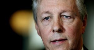 Northern Ireland First Minister Peter Robinson said his party would not discuss the past as part of the Haass  talks until Lady Justice Hallett's report into the 'on the runs' controversy is published. Photograph: Brian Lawless/PA Wire