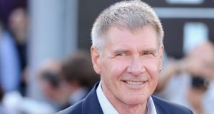 Actor Harrison Ford is to appear alongside Carrie Fisher, Andy Serkis and Oscar-winner Lupita Nyong'o in the next Star Wars film, which is currently being filmed. Photograph: Ian Gavan/Getty Images