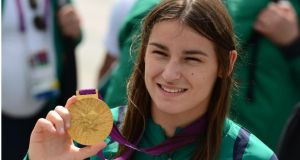 Katie Taylor: A question about her faith came up on the Junior Cert religion exam. Photograph: Bryan O'Brien