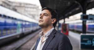 French connection: Thomas Piketty. Photograph: Ed Alcock/New York Times