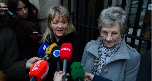 Magdalene survivors Marina Gambold (left) and Maureen Sullivan after meeting with Enda Kenny last year. In order to deliver his report, Mr Justice John Quirke was assisted by 33 barristers who, over five weeks, talked to the 337 Magdalene survivors. photograph: bryan o'brien