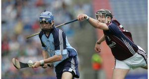 Dublin's Alan McCrabbe:  can cause problems for Wexford's defence from play and from placed balls. Photo: Alan Betson