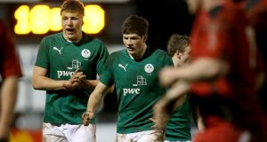 Ross Molony and Jack O'Donoghue will be key men for Ireland Under-20s against England in their Junior World Cup semi-final in North Harbour, New Zealand. Photograph: James Crombie/Inpho