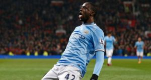 Manchester City's Yaya Toure: strugglling to be fit in time for the Ivory Coast's World Cup opener.  Photo: Phil Noble/Reuters