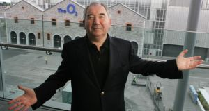 "Developer Harry Crosbie, whose companies owe Nama about €430 million, is to ask the High Court to prevent Nama from pursuing him further over his debts, to remove Grant Thornton as receivers to the theatre, and ""compensate Mr Crosbie for leaks made by Nama of personal information regarding his financial affairs"". Photograph: Cyril Byrne"