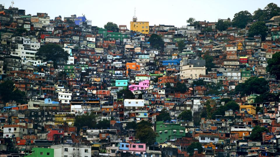 5bf7f287a71 Despair takes a holiday as World Cup fever hits the favelas