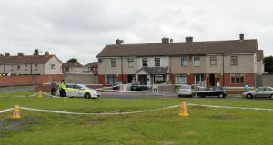 Gardaí are investigating the circumstances where a six-year-old boy was rushed to hospital after he received gunshot wounds in Ballyfermot, Dublin.   Photograph; Dara Mac Dónaill / The Irish Times