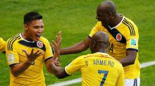 Clinical Colombia have too much for Greece