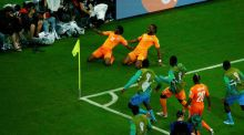 Didier Drogba fires up Ivory Coast as Japan falter