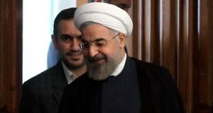 "Iran's president, Hassan Rouhani, called the Isis offensive ""a very dangerous mistake"" by the Iraqi militants. Photograph: Reuters"