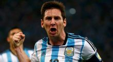 Untidy stuff all round but Messi rescues Argentina