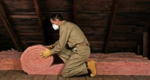 Attic insulation: 300mm recommended