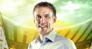 Phil Neville has been criticised for his 'monotone' commentary, leading to hundreds of complaints to the BBC. Photograph: BBC