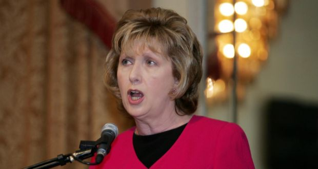 "Former president Mary McAleese said there was just something profoundly wrong and skewed"" about asking ""150 male celibates"" to review the Catholic Church's teaching on family life. Photograph: Eric Luke/The Irish Times"