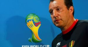 Belgium's national team head coach Marc Wilmots:  has emerged as an intriguing figure in their rise and will be a key influence.