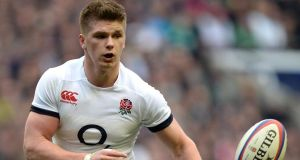 Owen Farrell will not play in England's final Test match against New Zealand because of an knee injury he picked up in the second game. Photograph: Andrew Matthews/PA Wire
