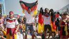 After the perfect start to the World Cup, Germany are hoping that they can go the whole way and win the competition. Photograph: Joe Raedle/Getty Images