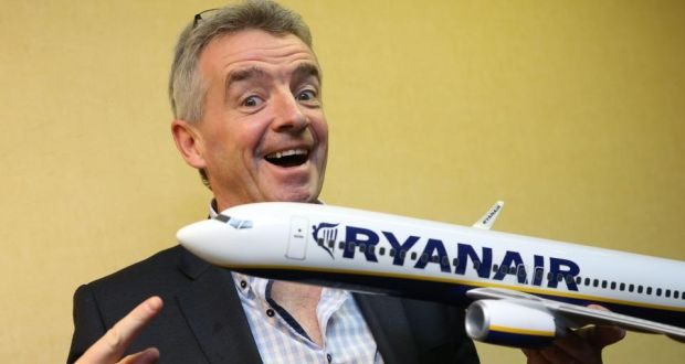 "Speaking at the company's AGM earlier this year, chief executive Michael O'Leary said the airline needed to ""stop unnecessarily pissing people off."" Photograph: Julien Warnand/EPA"