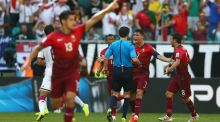 Portugal blame the referee for 4-0 beating