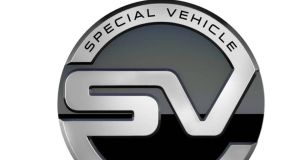 Jaguar Land Rover wants its SVO badge to become as evocative (and as profitable) as Merc's AMG