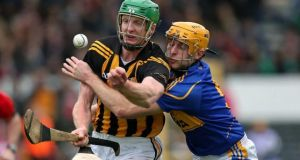 Henry Shefflin: missed the opening championship tie in successive seasons, both against Offaly, due to the same fractured metatarsal. Photograph: Ryan Byrne/Inpho