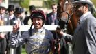 Frankie Dettori:  aboard Treve for the Prince of Wales renewal and will be riding at this favourite track. Photograph: Steve Parsons/PA