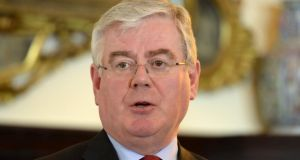 Tánaiste and Minister for Foreign Affairs  Eamon Gilmore to lobby on behalf of estimated 50,000 Irish illegal immigrants in US. Photograph: Dara Mac Dónaill