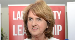 "Minister for Social Protection Joan Burton, who sponsored the legislation, said last night that the process that led to a new draft of the Bill had helped give a better understanding of the ""complex issues that are being addressed"". Photograph: Eric Luke"