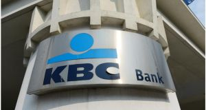 KBC's Irish operation made a loss last year of €864 million, almost three times that in 2012. Photograph: Bryan O'Brien