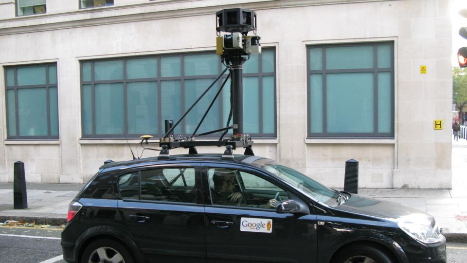 Have you seen Google streetview cars