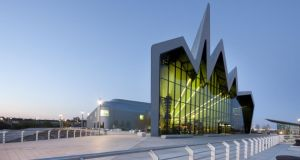 The Riverside Museum of Transport in Glasgow. Photographs: Hufton + Crow