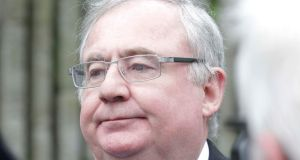 Minister for Energy Pat Rabbitte said the new exploration licences would increase State take. Photograph: Stephen Collins/Collins Photos