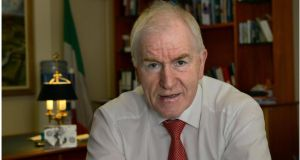 "Jimmy Deenihan, Minister for Arts Heritage and the Gaeltacht: ""The evolution of public assemblies through representative government to modern democracy in Ireland is a worthy topic for discussion.""  Photograph: Brenda Fitzsimons/The Irish Times"