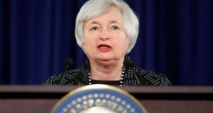 "US Federal Reserve chairwoman Janet Yellen: ""Economic activity is rebounding in the current quarter and will continue to expand at a moderate pace."" Photograph: Reuters/Jonathan Ernst"