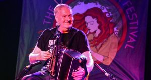 The world accordion to Seamus Begley at Doolin Folk Festival