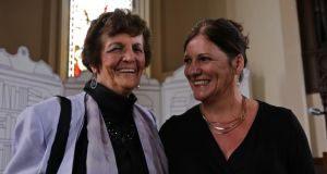 Mum's the word: Philomena Lee and her daughter Jane at the Festival of Writing and Ideas