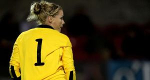 Ireland goalkeeper Emma Byrne helped earn her side a point against Russia.
