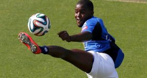 With  Arsenal player Joel Campbell  spearheading their frontline,  Costa Rica   have a player capable of providing the cutting edge their smash-and-grab approach demands.  Photograph: Paulo Whitaker/Reuters