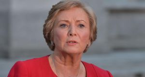 "Minister for Justice Frances Fitzgerald: ""We are also faced with growing and inextricable links between paramilitary groups and organised crime."" Photograph: Alan Betson/The Irish Times"