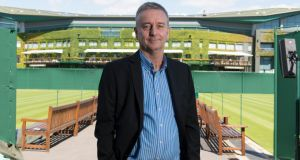 Dubliner: Dave Miley, head of development at the International Tennis Federation. photograph: rod leon