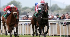 Slade Power:  win will complete remarkable big-race strike-rate for Eddie Lynam. Photograph:   Ryan Byrne/Inpho