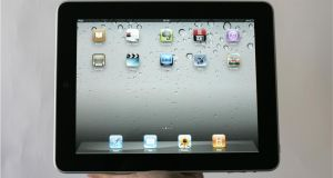 The Apple iPad: the Revenue opinion issued to Apple, possibly decades ago, is to be subjected to examination by the European Commission. Photograph: Dara Mac Dónaill