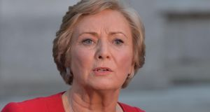 Frances Fitzgerald: the Minister for Justice has been urged to appoint an 'anti-trafficking czar'. Photograph: Alan Betson / The Irish Times
