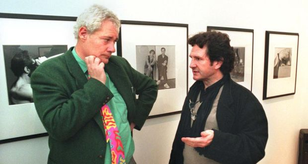Eddie Murphy (left), with Ciaran Benson. Photograph: Matt Kavanagh