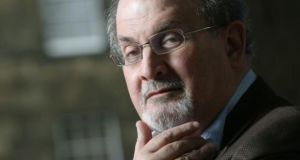 'You have to accept a certain level of disrespect,' author Salman Rushdie argued at a lively debate on the freedom of speech at the Dalkey Book Festival this afternoon. File. Photograph: Jeremy Suttton-Hibbert/Getty Images