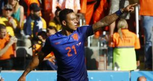 Memphis Depay: could be rewarded with a start after his goal against Australia.