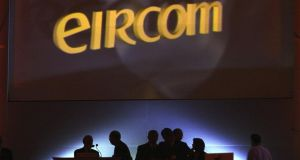 Eircom is expected to take a dual listing in Dublin and London, with the bulk of the proceeds of the flotation used to reduce its €2.3 billion debt pile. Photograph: Frank Miller
