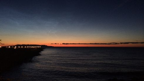 A beauty is born: Sunrise at Dun Laoghaire at 3.30am on June 20th, 2014. Photograph: Declan Egan