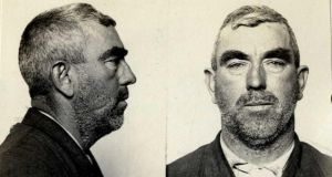 "David Coughlin (45), a plasterer arrested in San Francisco for ""petit larceny"" on June 2nd, 1910, and sentenced on June 8th, 1910, to ""county jail 6 months""."